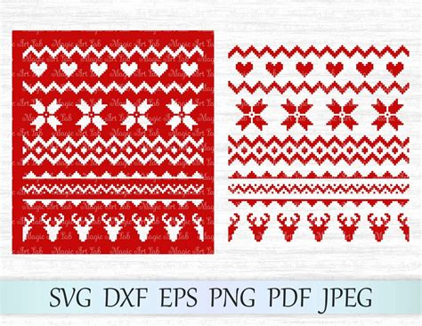 2020 popular 1 trends in men's clothing, women's clothing, mother & kids, jewelry & accessories with christmas pattern sweater men and 1. Пин на доске Christmas SVG files