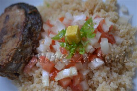 thon cuisine recette du garba attieke thon ivorian cuisine