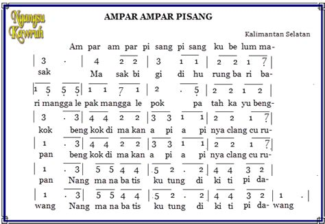 not pianika ar ar pisang lirik lagu daerah ar ar pisang lirik lagu daerah ar ar
