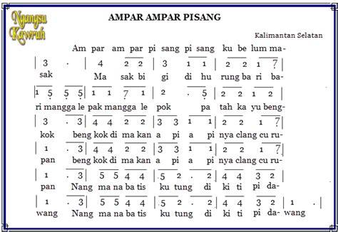 not angka yamko rambe yamko not angka lagu daerah silahkan dibagikan lagi