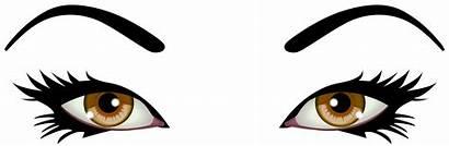 Eyes Clipart Brown Clip Female Emoji Eye