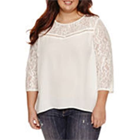 jcpenney plus size blouses juniors plus size blouses tops for jcpenney