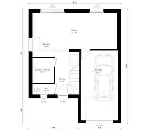 plan maison etage 3 chambres plan maison 3 chambres etage crea with plan maison 3