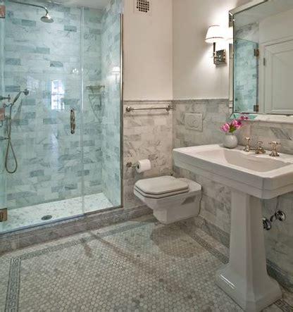 carrara marble bathroom designs floating toilet transitional bathroom chessin