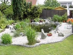 Teichrand Gestalten Bilder : die besten 25 kiesgarten anlegen ideen auf pinterest ~ Articles-book.com Haus und Dekorationen