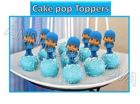 printable pocoyo cupcake topper cake pop topperpicks