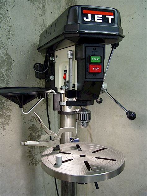 Jet Floor Standing Drill Press by Drill Presses Chucks