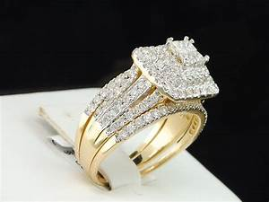 Wedding favors diamond wedding rings for women cheap for Promise engagement wedding ring set