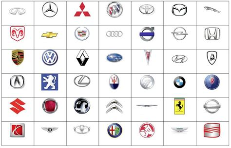 all car logos and names in the famous car logos with names pictures to pin on pinterest