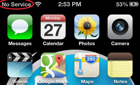 iphone says no service fix no service on iphone 4s 5 4 3gs after factory unlock Iphon