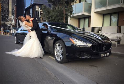 maserati wedding car hire melbourne rsv limo