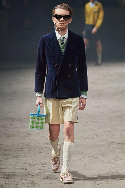 gucci fall menswear fashion show moda