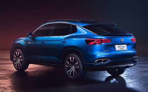 volkswagen suv coupe concept wallpapers  hd