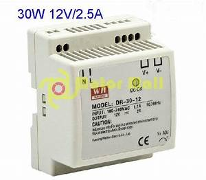 30w 12v 2 5a Guide Rail Type Installation Switching Power