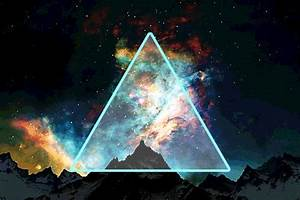 hipster triangle galaxy | Tumblr