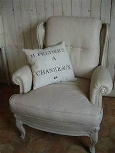 Peinture Pour Tissu Canapé : repeindre le tissu d 39 un fauteuil avant apres bricole et ~ Premium-room.com Idées de Décoration