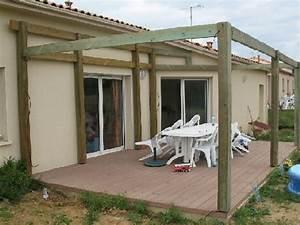 Construire Une Pergola En Bois : construire un appenti en bois plan ~ Premium-room.com Idées de Décoration
