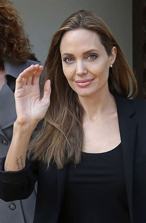 Angelina Jolie in Beirut - February 2014 • CelebMafia