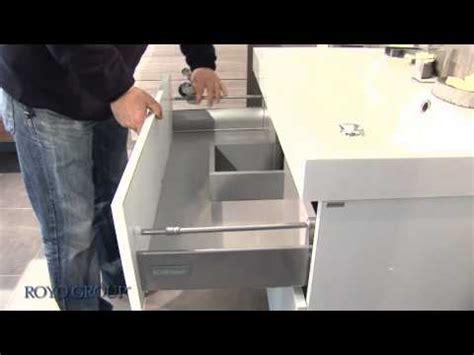 cuisine beckermann st7 tiroir métallique avec glissières g1 enlever