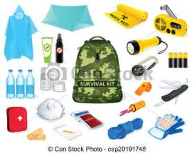 small home plans free eps vector of survival kit backpack and survival kit in