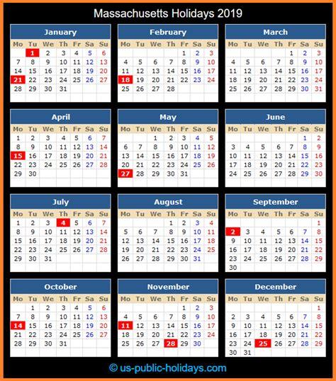 massachusetts holidays