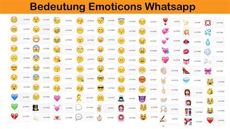 Neue whatsapp emojis bedeutung