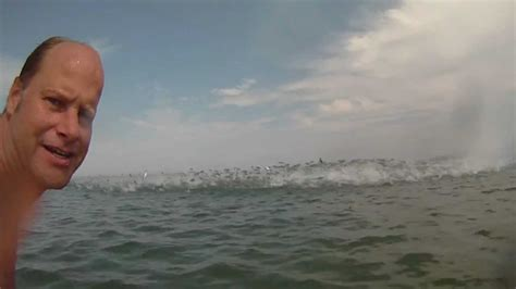 amazing jumping fish caught   gopro video camera