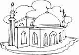 Coloring Pages Mosque Masjid Eid Mubarak Colouring Printable Happy Ramadan Getcolorings Pdf Sheets Getdrawings Adults Islamic Info sketch template