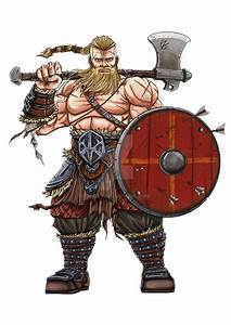 Character Design : Viking Warrior by Zoday on DeviantArt