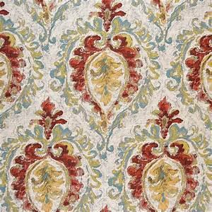 Magnolia Fabrics Martella Multi - InteriorDecorating com