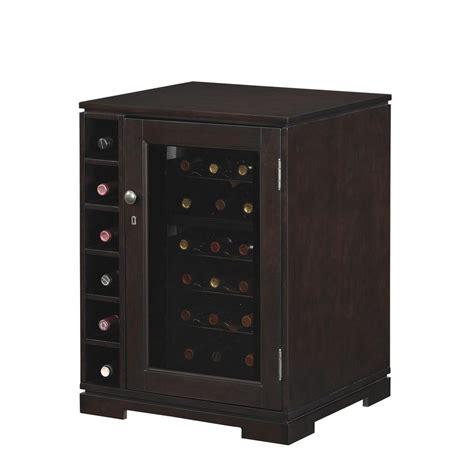 cabinet wine cooler tresanti cabernet wine cabinet 18 bottle wine cooler in