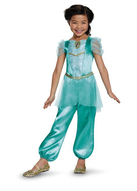 Princess Jasmine Classic Girl Costume - Disney Costumes