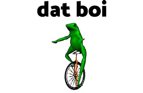 Dat Boi Memes - quot dat boi unicycle frog me irl meme quot studio pouches by kebuenowilly redbubble