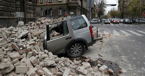 The next day, a 7.1 earthquake rocked southern california. Strong earthquake rocks Croatia causing widespread panic and damage in capital