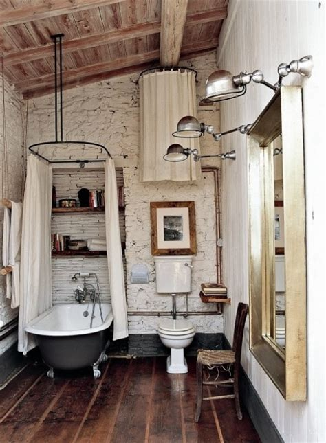 rustic barn bathroom design ideas digsdigs