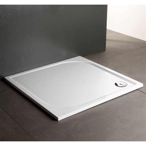 piatto doccia filo pavimento piatto doccia in resina a filo pavimento 100x100 cm kv store