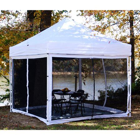 gazebo for cing king canopy epa1pbs10wh instant canopy bug screen room 1