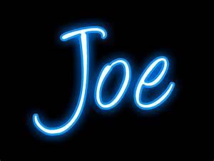 Name Joe Clipart