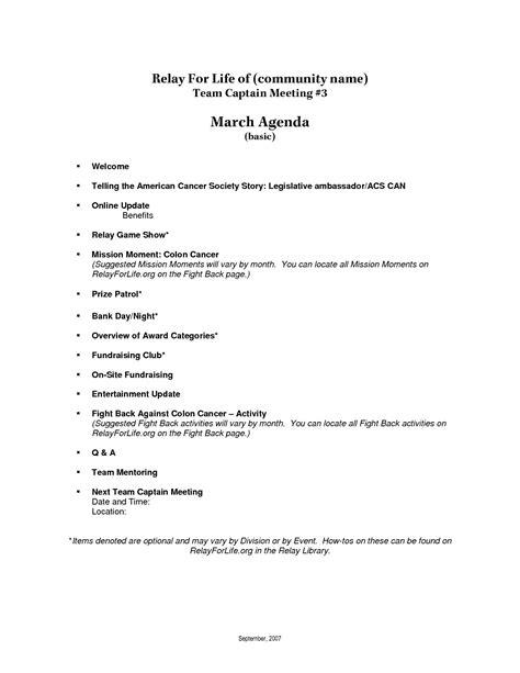 images  basic meeting agenda template helmettowncom