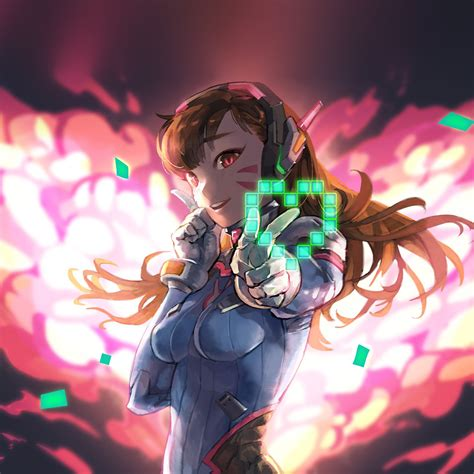 Anime Gamer Wallpaper - bc70 anime overwatch illustration wallpaper