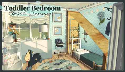 Sims 4  Toddler Bedroom (Build & Decoration) Dinha