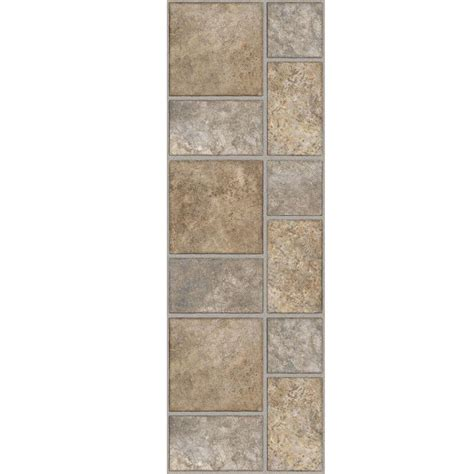 home depot vinyl tile trafficmaster 12 in x 36 in yukon luxury