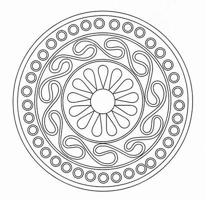 Mandala Coloring Geometric Celtic Patterns Designs Mandalas