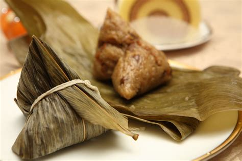 Dragon Boat Festival Rice Cake by Zhong Zi Translated To Glutinous Rice Dumplings Are
