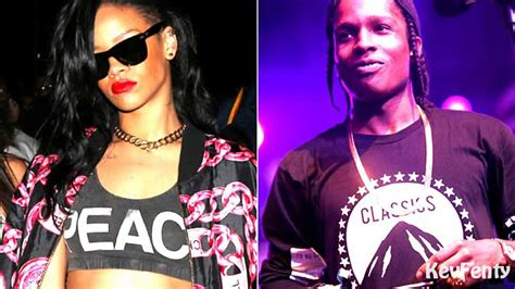 Gallery For > Rihanna Asap Rocky Cockiness