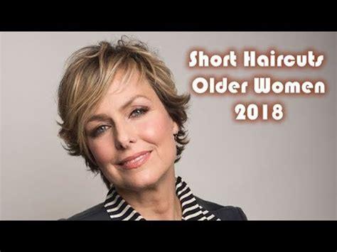 short haircuts   older women   melora