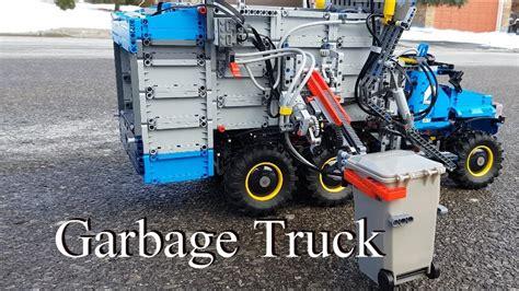 garbage truck lego technic 42070 6x6 all terrain tow