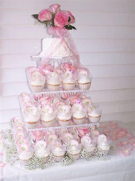 wedding cupcake tower cakecentralcom