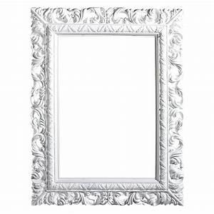 Cadre Blanc Photo : d co cadre baroque angulaire blanc 65 x 50 cm d coration chez decowoerner ~ Teatrodelosmanantiales.com Idées de Décoration