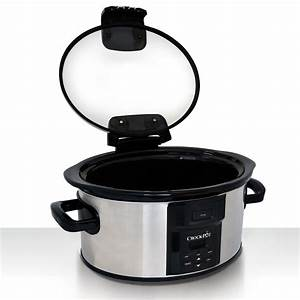 Crock-Pot® Programmable Slow Cooker, Stainless at Crock ...